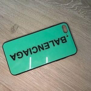 Balenciaga case for Iphones 7/8 plus.